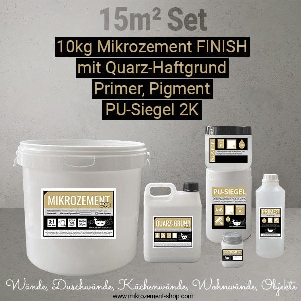 Mikrozement FINISH Set Dusche Nasszellen