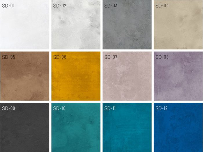 Mikrozement SD Farben