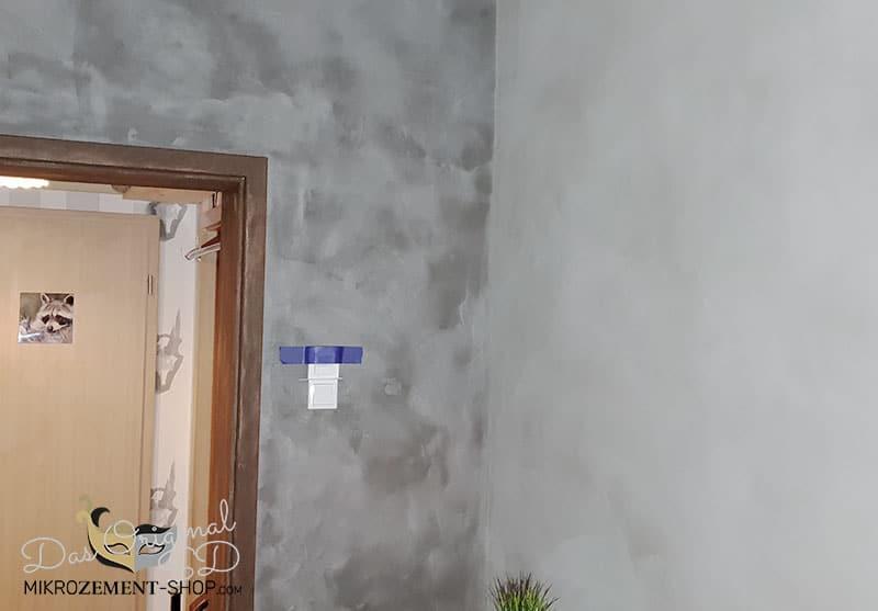 Mikrozement Wände wasserdicht