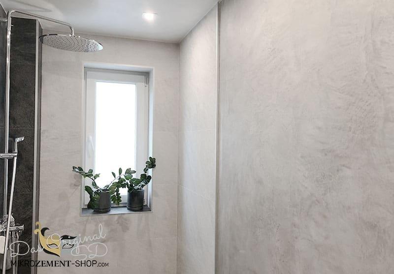Mikrozement im Badezimmer