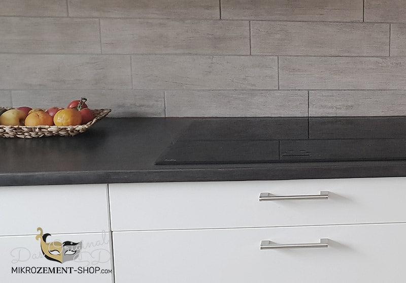 Mikrozement Küchenarbeitsplatte