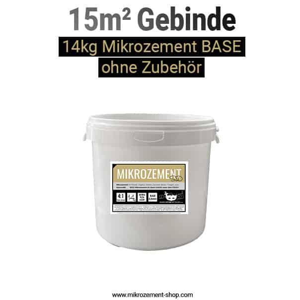 Mikrozement BASE Gebinde 14kg