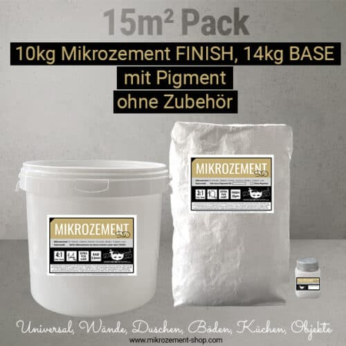 Mikrozement pack, Finish, Nase, Pigment