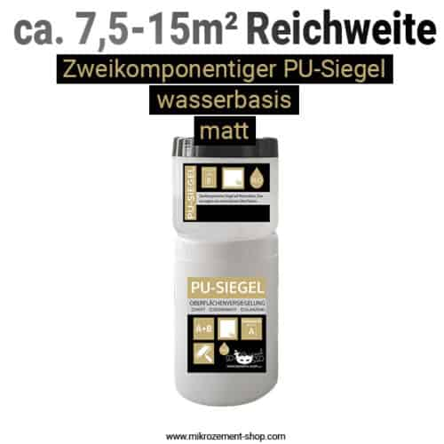 wasserbasis PU-Siegel Mikrozement