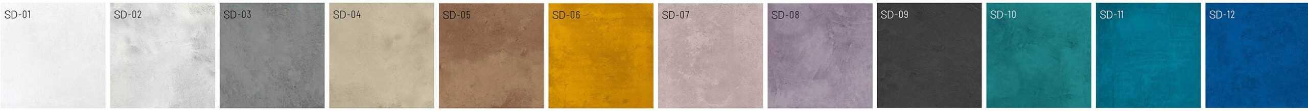 Microzement Farben SD
