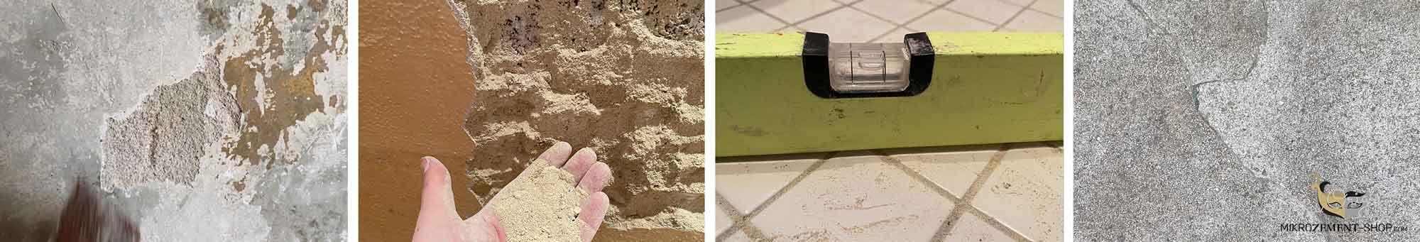Untergrund für Microzement Belag prüfen