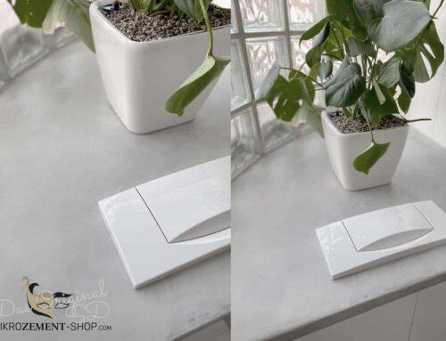 Kundenprojekt mit der Mikrozement Probe erstellt, Farbe SD-03