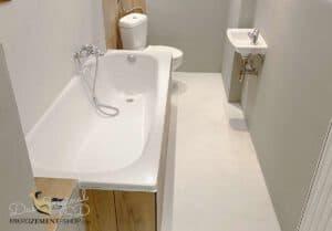 Mikrozement Badezimmer Boden
