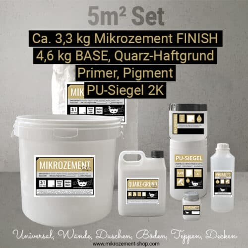 5m2 Microzement Set