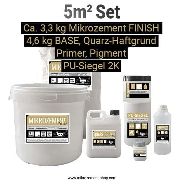 5m2 Mikrozement Set