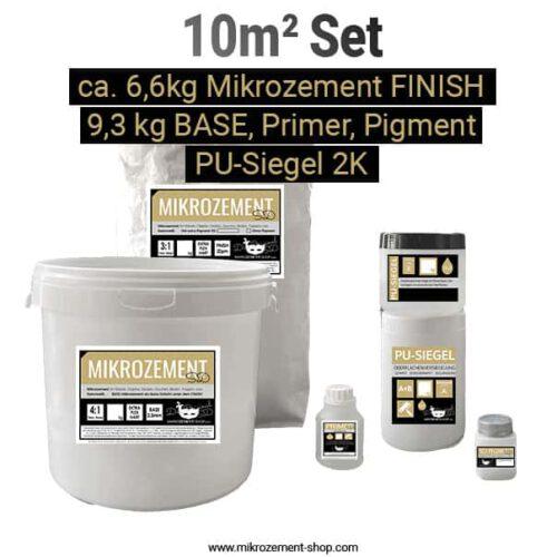 Microzement Mikrozement Set 10 m