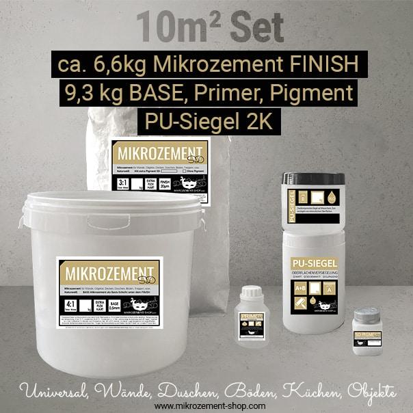 Microzement Mikrozement Set 10 m2