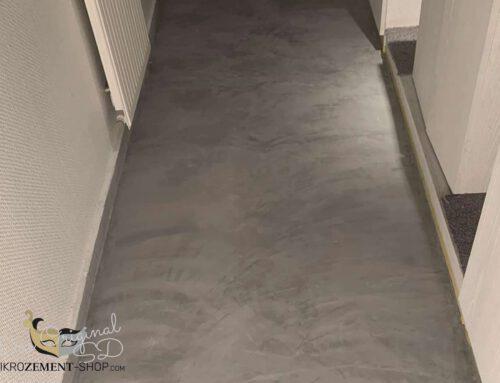 Mikrozement Fußboden