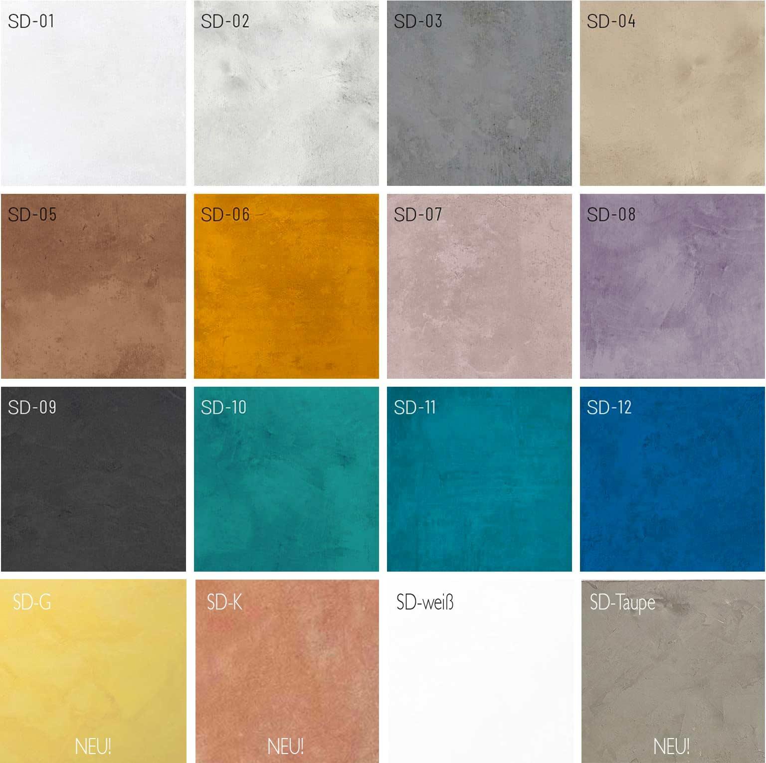 Mikrozement SD Farben 2021