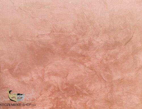 Kupfer Mikrozement, edel und in zwei Varianten für einen besondern Look