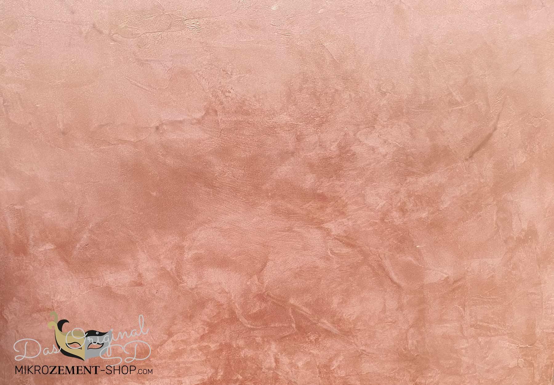Kupfer Mikrozement Lasur