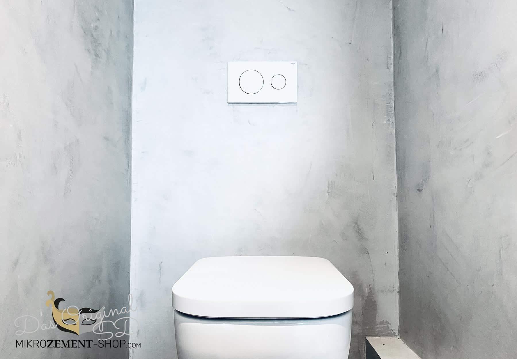 Mikrozement Microzement Gäste WC