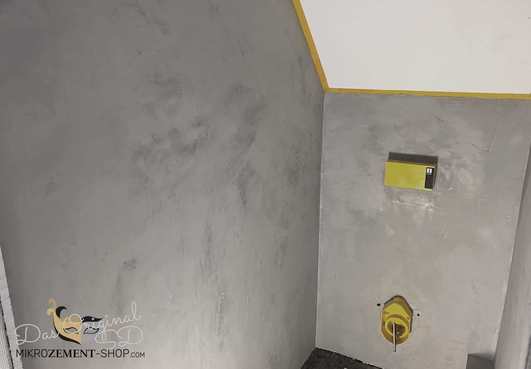 Mikrozement Microzement Wand