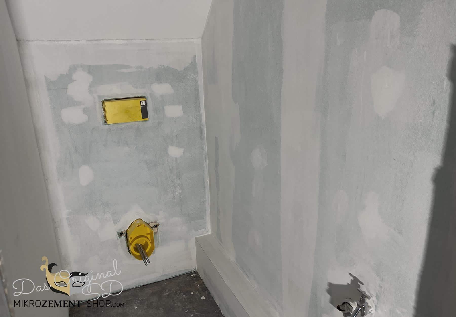 Mikrozement im WC