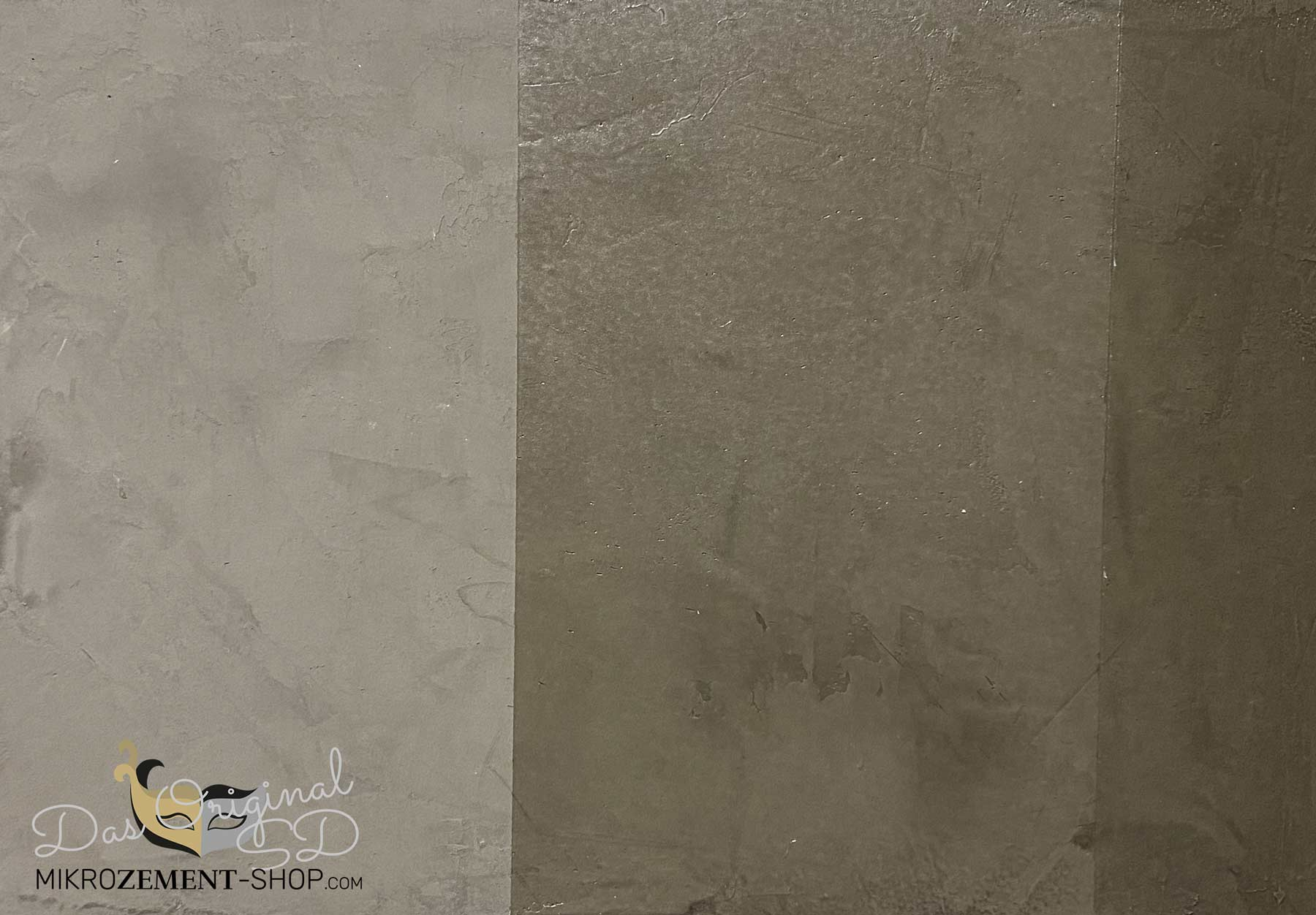 Mikrozement Farbe Taupe