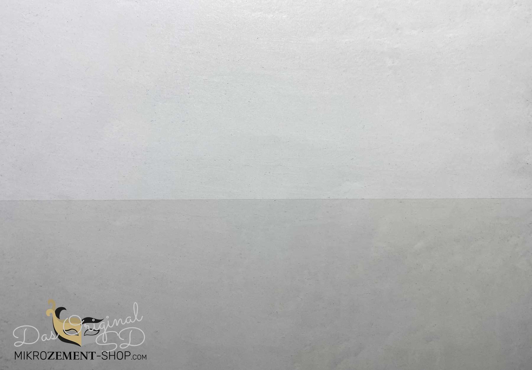Unterschied Mikrozement Siegel mit Glanz