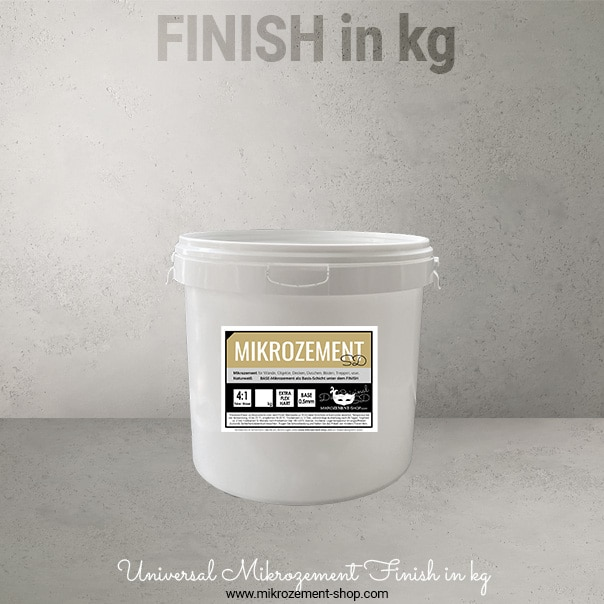 Microzement Finish kg