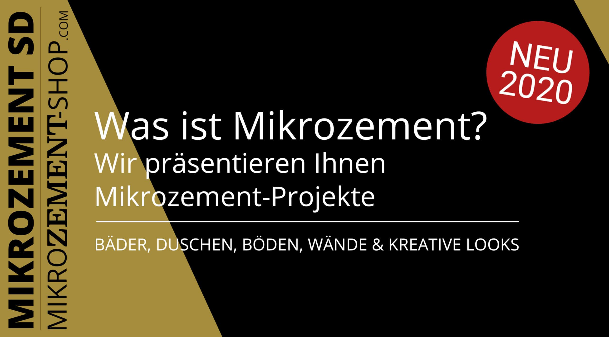 Was ist Microzement, Mikrozement SD?
