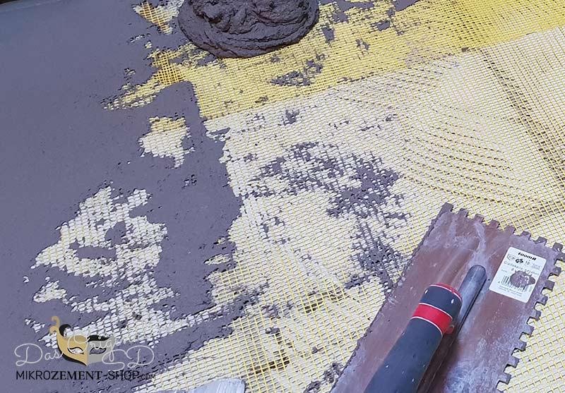 Mikrozement tragfester Untergrund Bodenvorbereitung