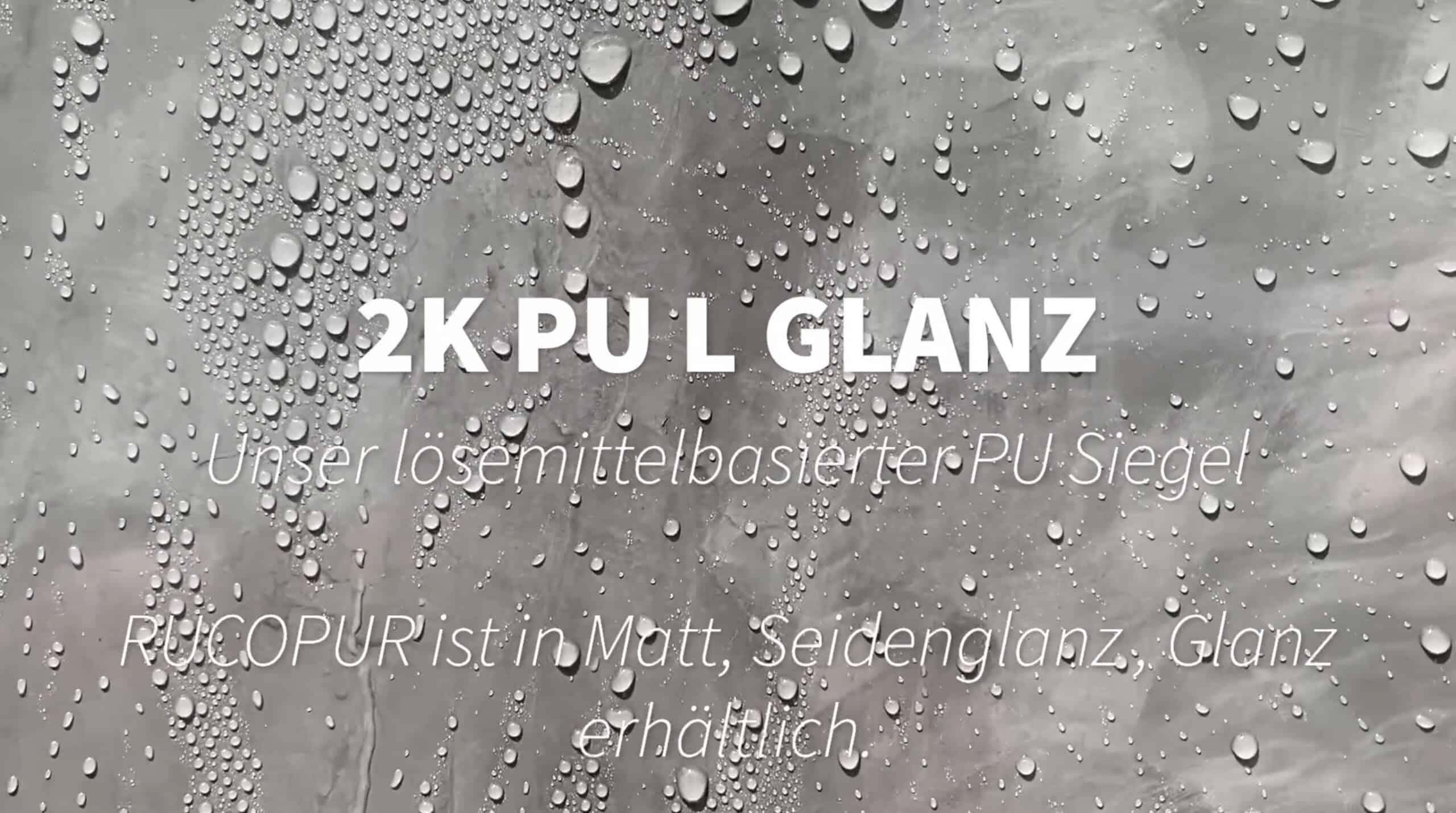 lösemittelbasierte und wasserdicht 2 K Mikrozement Oberfläche
