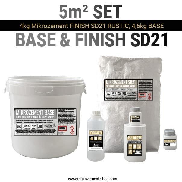Beton Cire Mikrozement SD21