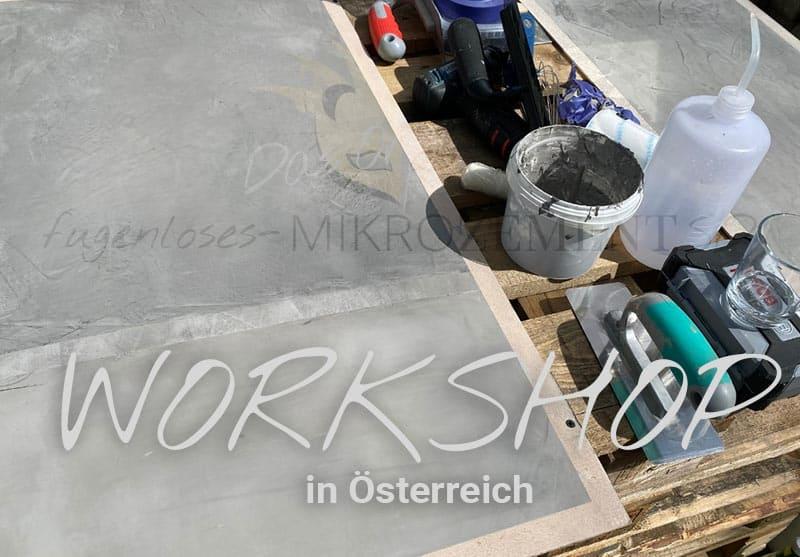 Workshop Mikrozement SD in Österreich